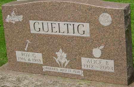 GUELTIG, ROY G - Montgomery County, Ohio | ROY G GUELTIG - Ohio Gravestone Photos