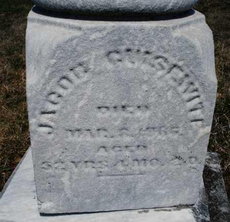GUISEWITE, JACOB - Montgomery County, Ohio | JACOB GUISEWITE - Ohio Gravestone Photos