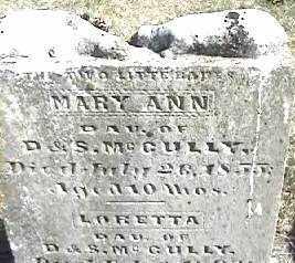 GULLY, MARY ANN - Montgomery County, Ohio   MARY ANN GULLY - Ohio Gravestone Photos
