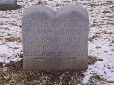 GUNCKEL, WILLIAM - Montgomery County, Ohio   WILLIAM GUNCKEL - Ohio Gravestone Photos