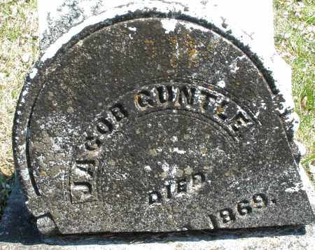 GUNTEL, JACOB - Montgomery County, Ohio | JACOB GUNTEL - Ohio Gravestone Photos
