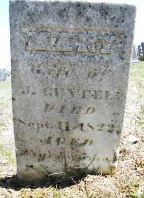 GUNTEL, MARY - Montgomery County, Ohio | MARY GUNTEL - Ohio Gravestone Photos