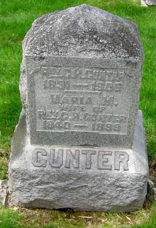 GUNTER, MARIA M - Montgomery County, Ohio | MARIA M GUNTER - Ohio Gravestone Photos
