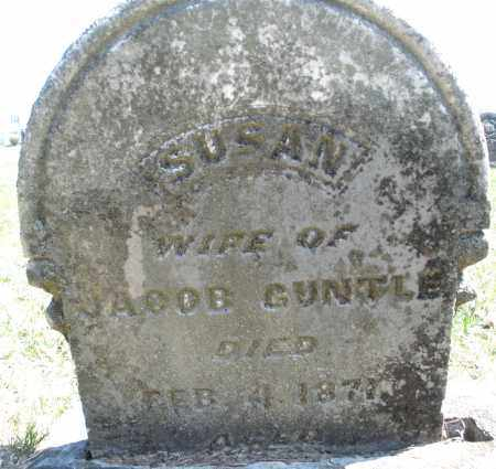 GUNTLE, SUSAN - Montgomery County, Ohio | SUSAN GUNTLE - Ohio Gravestone Photos