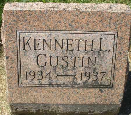 GUSTIN, KENNETH L. - Montgomery County, Ohio | KENNETH L. GUSTIN - Ohio Gravestone Photos
