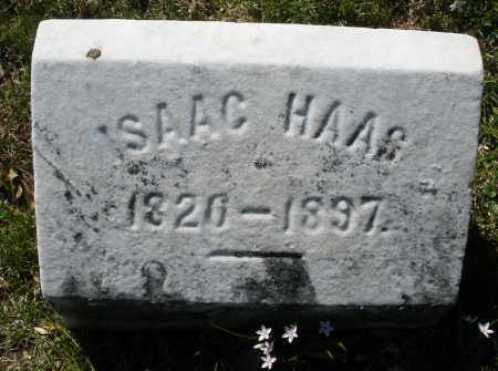 HAAS, ISAAC - Montgomery County, Ohio | ISAAC HAAS - Ohio Gravestone Photos
