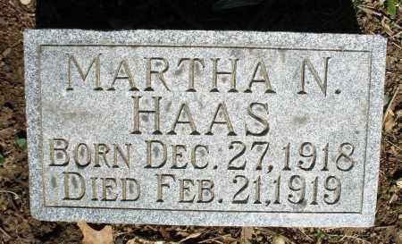 HAAS, MARTHA N. - Montgomery County, Ohio | MARTHA N. HAAS - Ohio Gravestone Photos