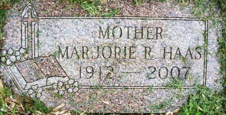 HAAS, MARJORIE R. - Montgomery County, Ohio   MARJORIE R. HAAS - Ohio Gravestone Photos