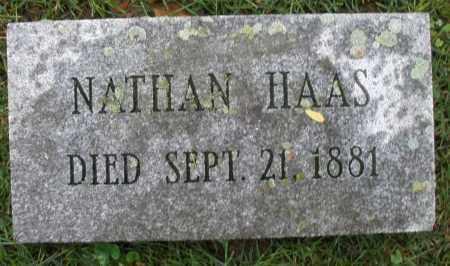 HAAS, NATHAN - Montgomery County, Ohio | NATHAN HAAS - Ohio Gravestone Photos