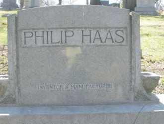 HAAS, PHILIP - Montgomery County, Ohio   PHILIP HAAS - Ohio Gravestone Photos