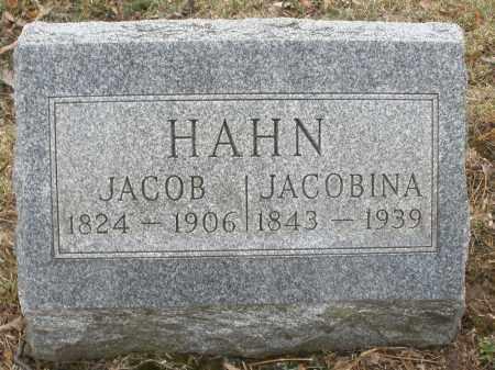 HAHN, JACOB - Montgomery County, Ohio | JACOB HAHN - Ohio Gravestone Photos