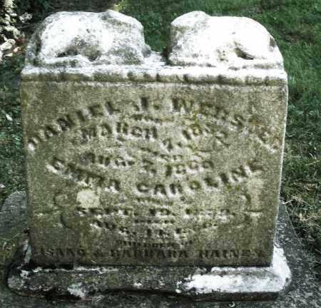 HAINES, DANIEL WEBSTER - Montgomery County, Ohio   DANIEL WEBSTER HAINES - Ohio Gravestone Photos