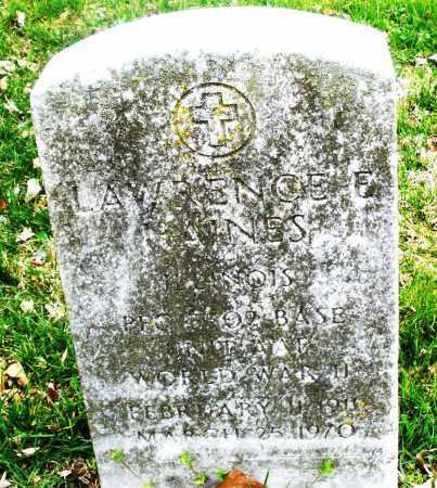 HAINES, LAWRENCE - Montgomery County, Ohio | LAWRENCE HAINES - Ohio Gravestone Photos