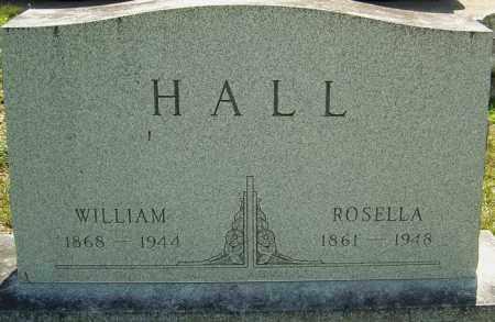 WRIGHT HALL, ROSELLA - Montgomery County, Ohio | ROSELLA WRIGHT HALL - Ohio Gravestone Photos