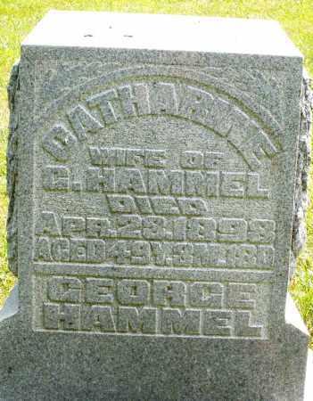HAMMEL, GEORGE - Montgomery County, Ohio   GEORGE HAMMEL - Ohio Gravestone Photos