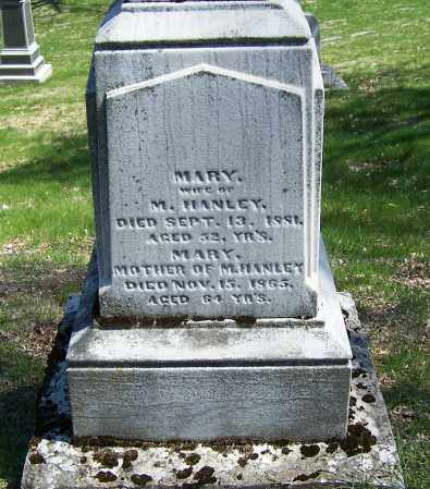 HANLEY, MARY - Montgomery County, Ohio | MARY HANLEY - Ohio Gravestone Photos