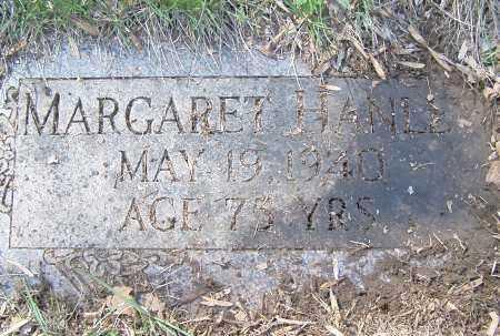 HANLEY, MARGARET - Montgomery County, Ohio   MARGARET HANLEY - Ohio Gravestone Photos