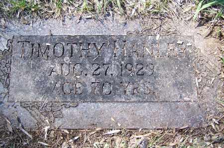 HANLEY, TIMOTHY - Montgomery County, Ohio | TIMOTHY HANLEY - Ohio Gravestone Photos