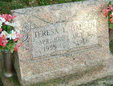 HANSEN, TERESA L - Montgomery County, Ohio   TERESA L HANSEN - Ohio Gravestone Photos