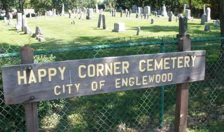 HAPPY CORNER, CEMETERY - Montgomery County, Ohio   CEMETERY HAPPY CORNER - Ohio Gravestone Photos