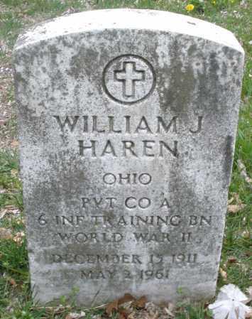 HAREN, WILLIAM J. - Montgomery County, Ohio | WILLIAM J. HAREN - Ohio Gravestone Photos