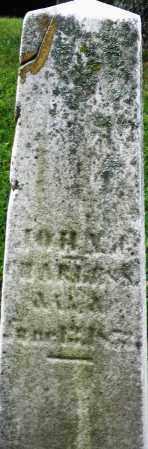 HARISON ?, JOHN - Montgomery County, Ohio | JOHN HARISON ? - Ohio Gravestone Photos