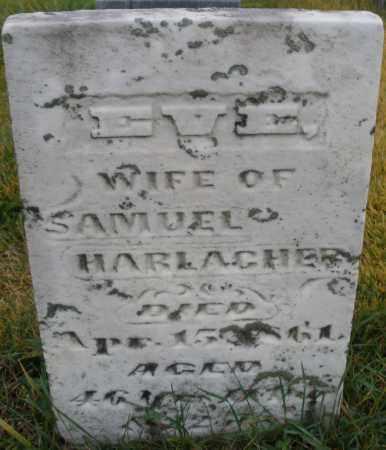 HARLAGHER, EVE - Montgomery County, Ohio | EVE HARLAGHER - Ohio Gravestone Photos