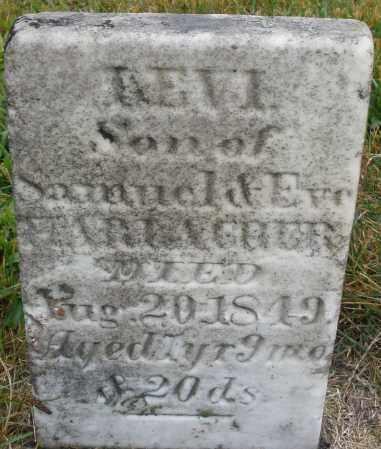 HARLAGHER, LEVI - Montgomery County, Ohio   LEVI HARLAGHER - Ohio Gravestone Photos