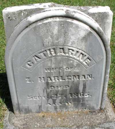 HARLEMAN, CATHARINE - Montgomery County, Ohio   CATHARINE HARLEMAN - Ohio Gravestone Photos