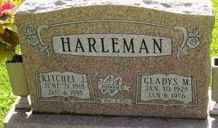 HARLEMAN, KITCHEL J - Montgomery County, Ohio | KITCHEL J HARLEMAN - Ohio Gravestone Photos