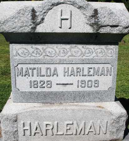 HARLEMAN, MATILDA - Montgomery County, Ohio   MATILDA HARLEMAN - Ohio Gravestone Photos
