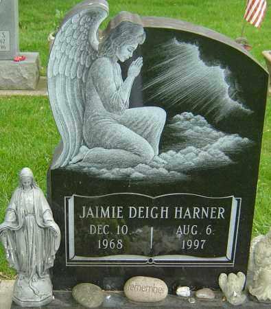 HARNER, JAIMIE DEIGH - Montgomery County, Ohio | JAIMIE DEIGH HARNER - Ohio Gravestone Photos