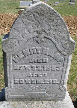 HARP, HENRY - Montgomery County, Ohio | HENRY HARP - Ohio Gravestone Photos