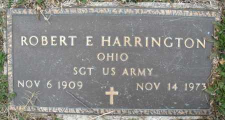 HARRINGTON, ROBERT E. - Montgomery County, Ohio | ROBERT E. HARRINGTON - Ohio Gravestone Photos
