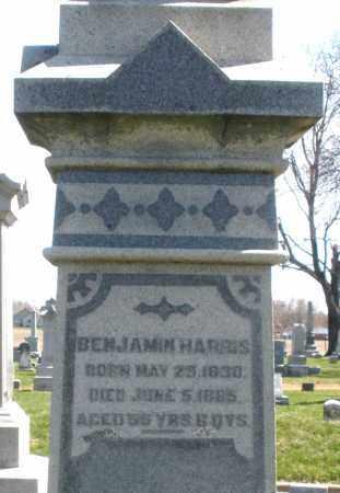 HARRIS, BENJAMIN - Montgomery County, Ohio | BENJAMIN HARRIS - Ohio Gravestone Photos