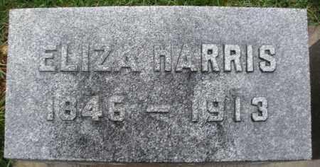 HARRIS, ELIZA - Montgomery County, Ohio | ELIZA HARRIS - Ohio Gravestone Photos