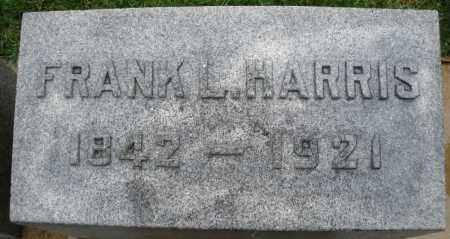 HARRIS, FRANK L. - Montgomery County, Ohio | FRANK L. HARRIS - Ohio Gravestone Photos