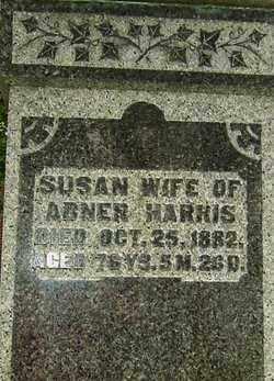 HARRIS, SUSAN - Montgomery County, Ohio | SUSAN HARRIS - Ohio Gravestone Photos