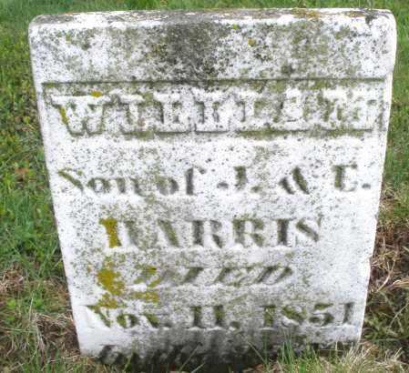HARRIS, WILLIAM - Montgomery County, Ohio   WILLIAM HARRIS - Ohio Gravestone Photos