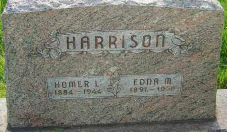 HARRISON, HOMER LEE - Montgomery County, Ohio | HOMER LEE HARRISON - Ohio Gravestone Photos
