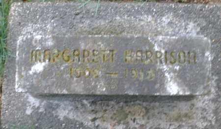 HARRISON, MARGARETT - Montgomery County, Ohio | MARGARETT HARRISON - Ohio Gravestone Photos