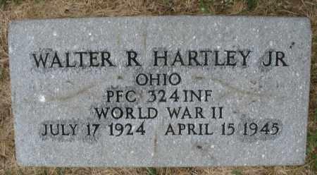 HARTLEY, WALTER R. JR. - Montgomery County, Ohio | WALTER R. JR. HARTLEY - Ohio Gravestone Photos