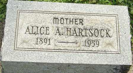 HARTSOCK, ALICE A - Montgomery County, Ohio | ALICE A HARTSOCK - Ohio Gravestone Photos