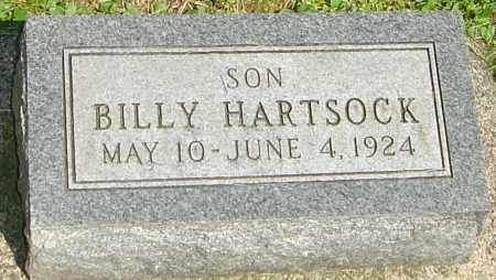 "HARTSOCK, JAMES WILLIAM ""BILLY"" - Montgomery County, Ohio 
