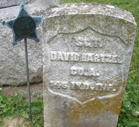 HARTZEL, DAVID - Montgomery County, Ohio   DAVID HARTZEL - Ohio Gravestone Photos