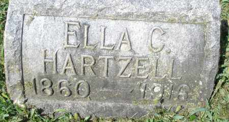 HARTZELL, ELLA C. - Montgomery County, Ohio   ELLA C. HARTZELL - Ohio Gravestone Photos