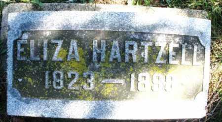 HARTZELL, ELIZA - Montgomery County, Ohio | ELIZA HARTZELL - Ohio Gravestone Photos