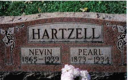 HARTZELL, PEARL - Montgomery County, Ohio | PEARL HARTZELL - Ohio Gravestone Photos