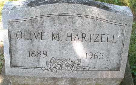 HARTZELL, OLIVE M. - Montgomery County, Ohio | OLIVE M. HARTZELL - Ohio Gravestone Photos