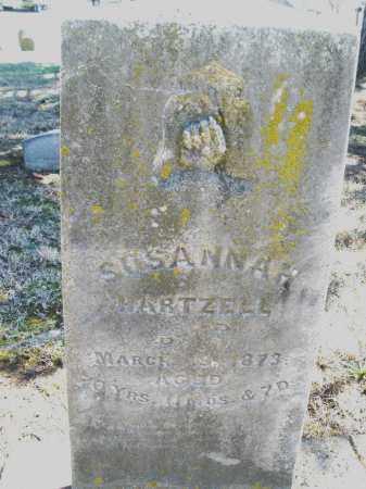 HARTZELL, SUSANNAH - Montgomery County, Ohio   SUSANNAH HARTZELL - Ohio Gravestone Photos